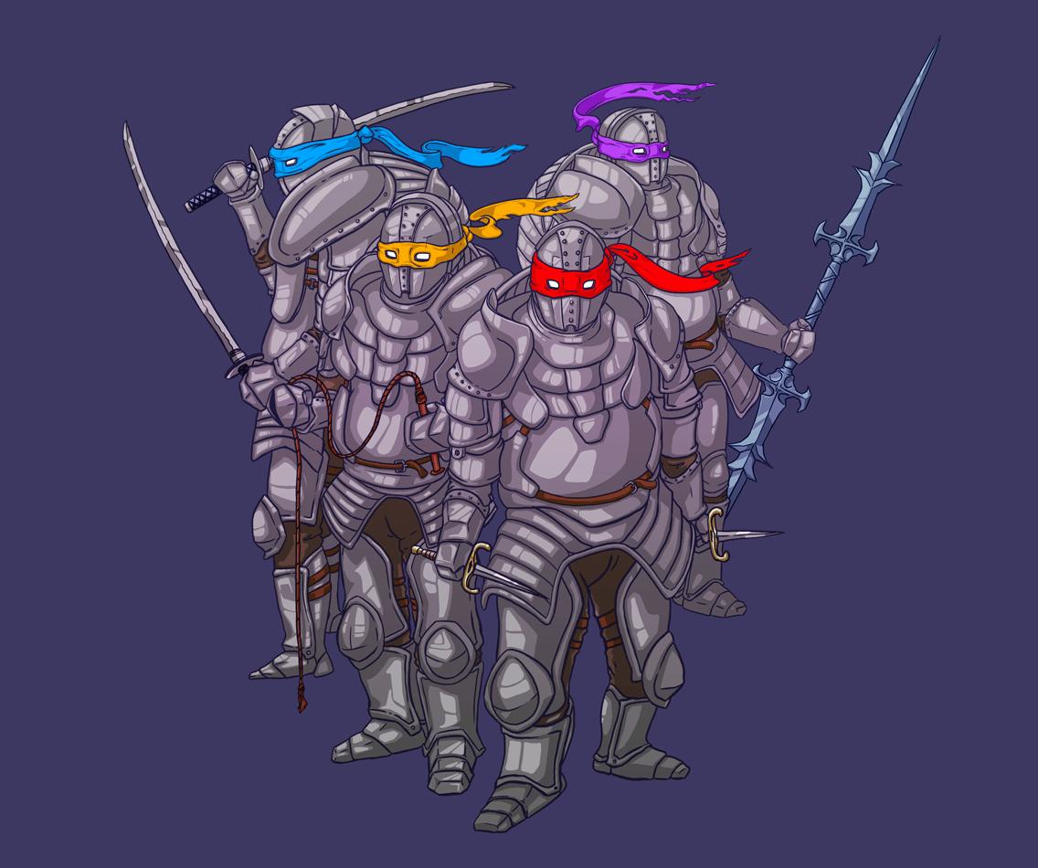 Ironclad NinjaTurtles! (DSII)