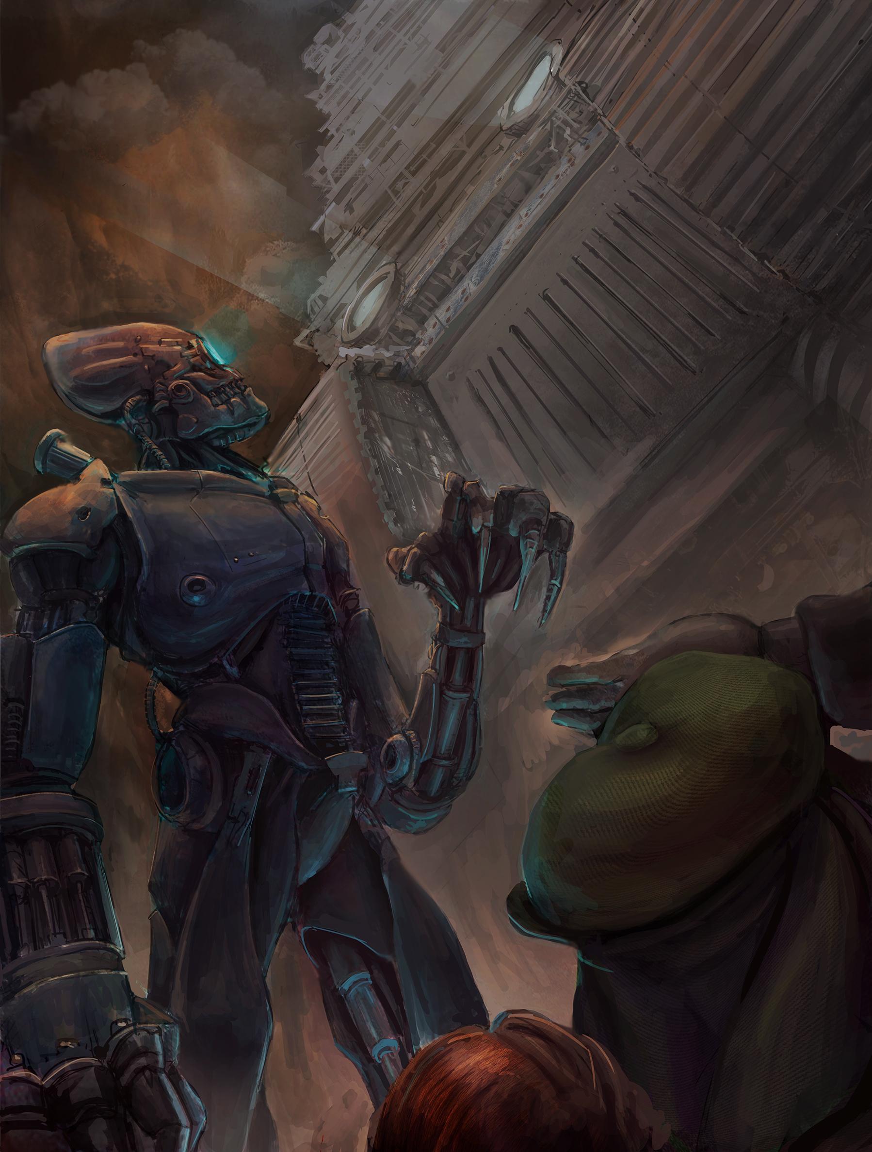 Mortal engines illustration