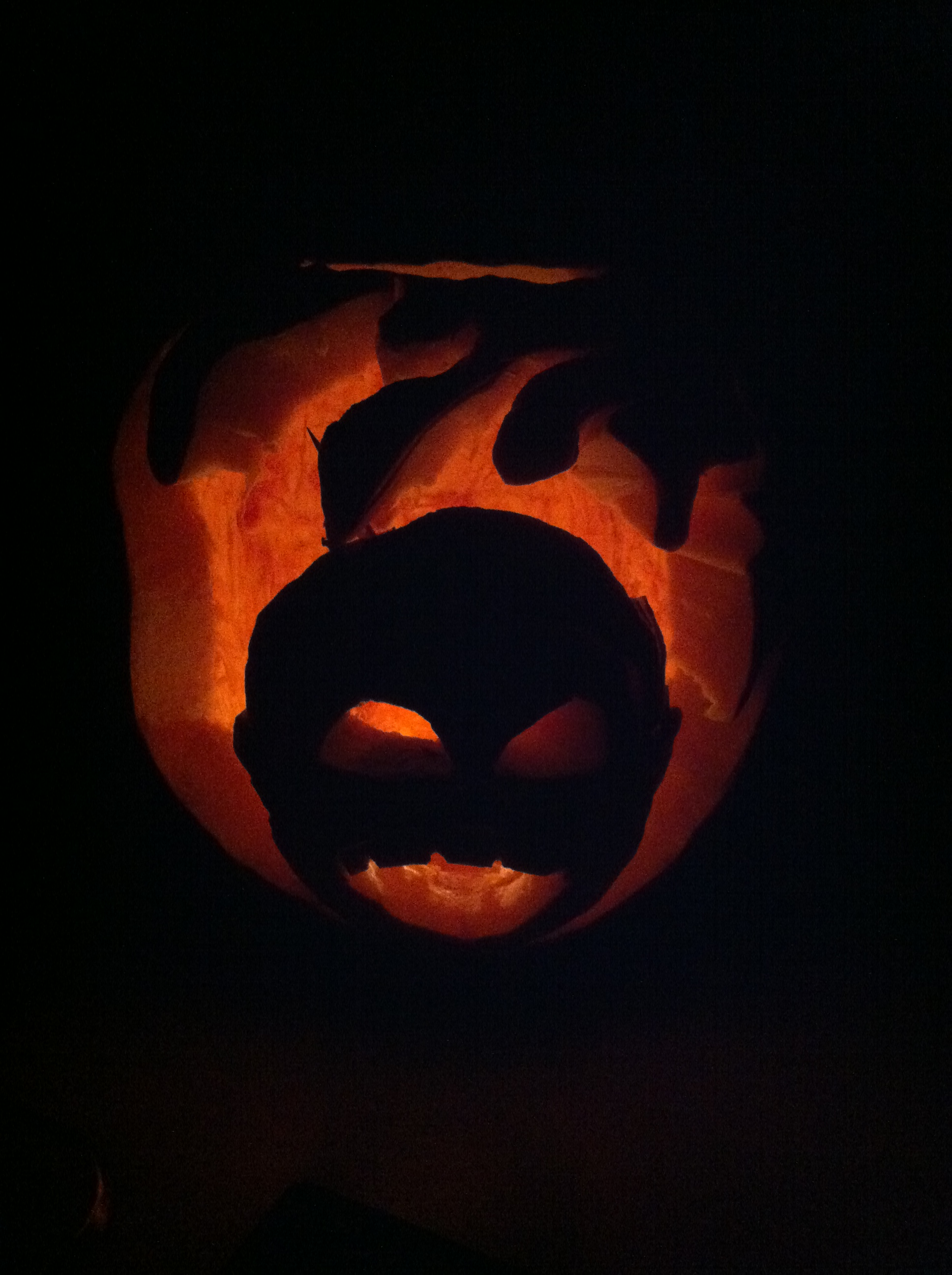2014 Pumpkin Carving - Darnell