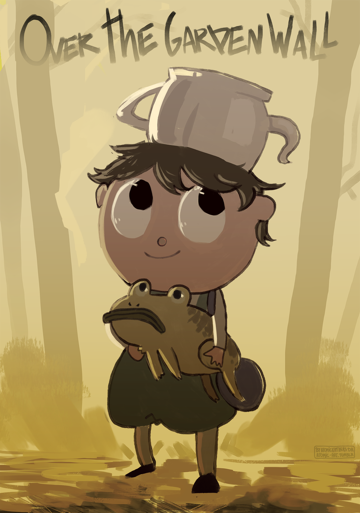 Gregory and his pet frog