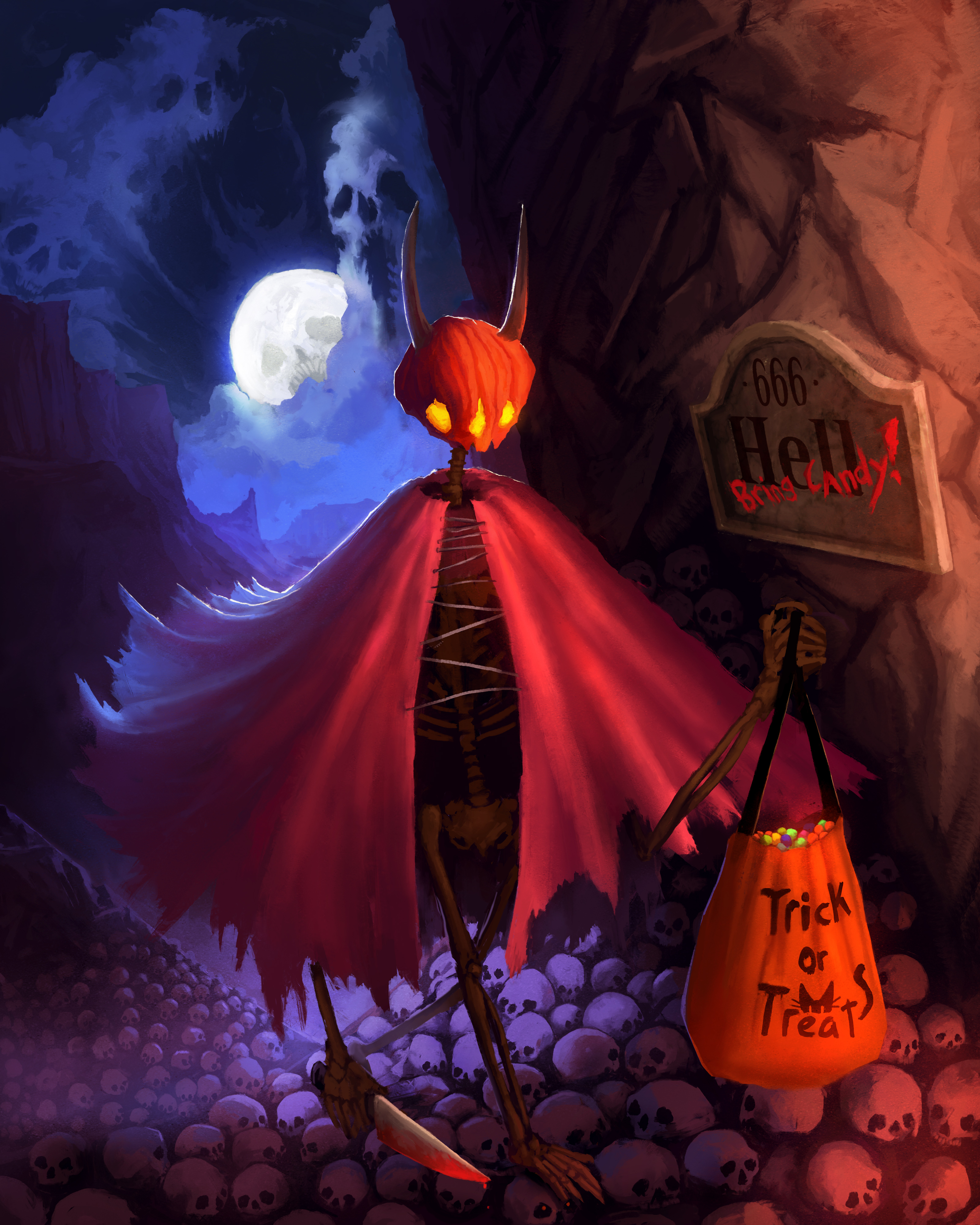 End of Halloween