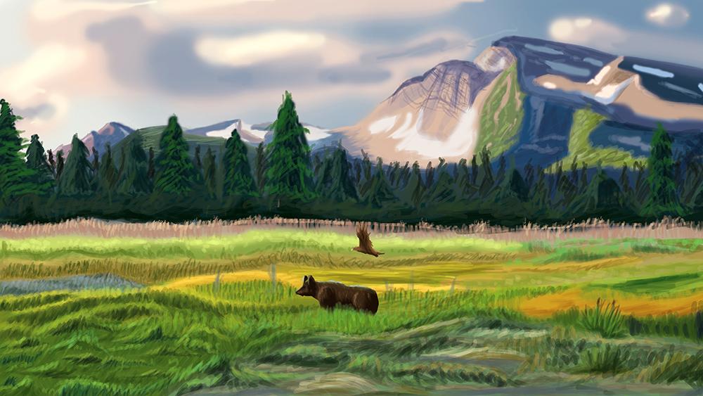 Landscape Sket