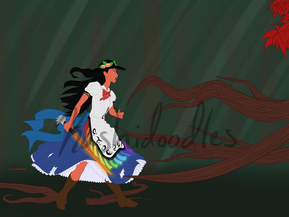 Disney Touhou - Pocahontas