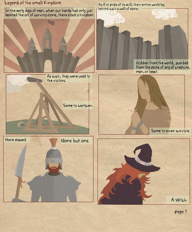 Legend of a small Kingdom pg.1