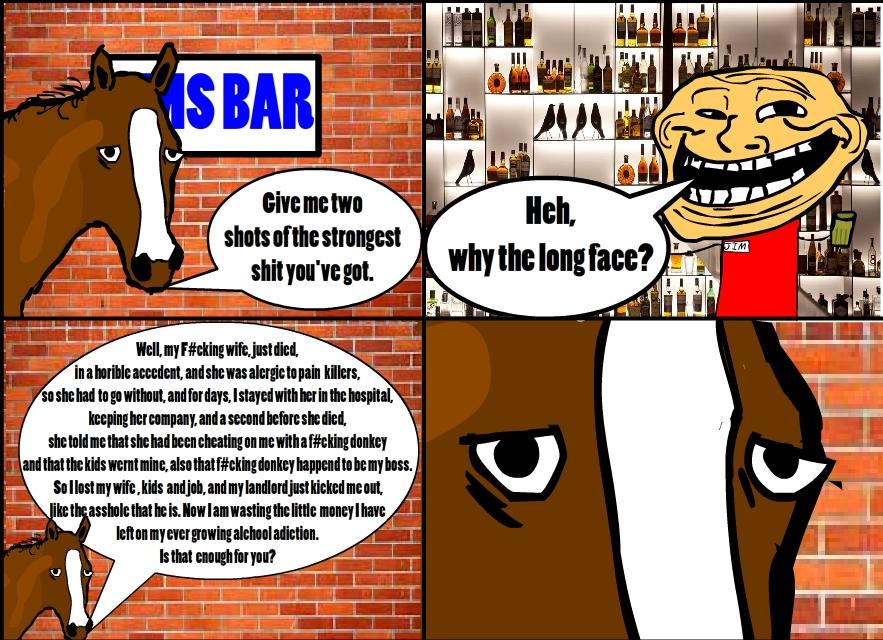 A Horse Walks Into A Bar...