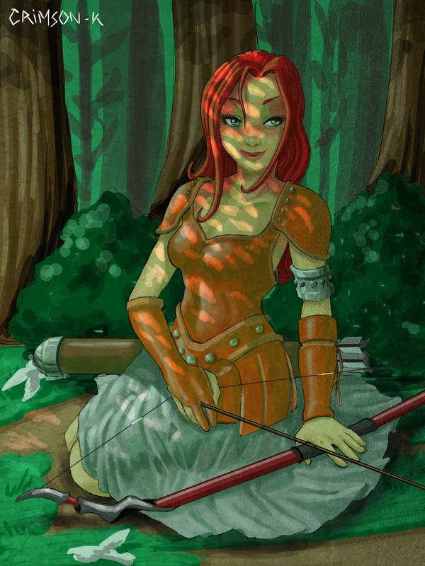 Sweet Red arroww