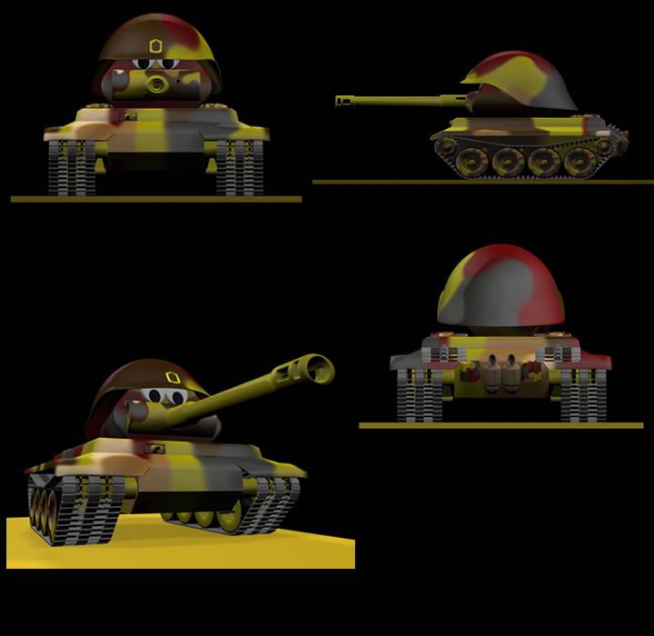 The Sarge Tank