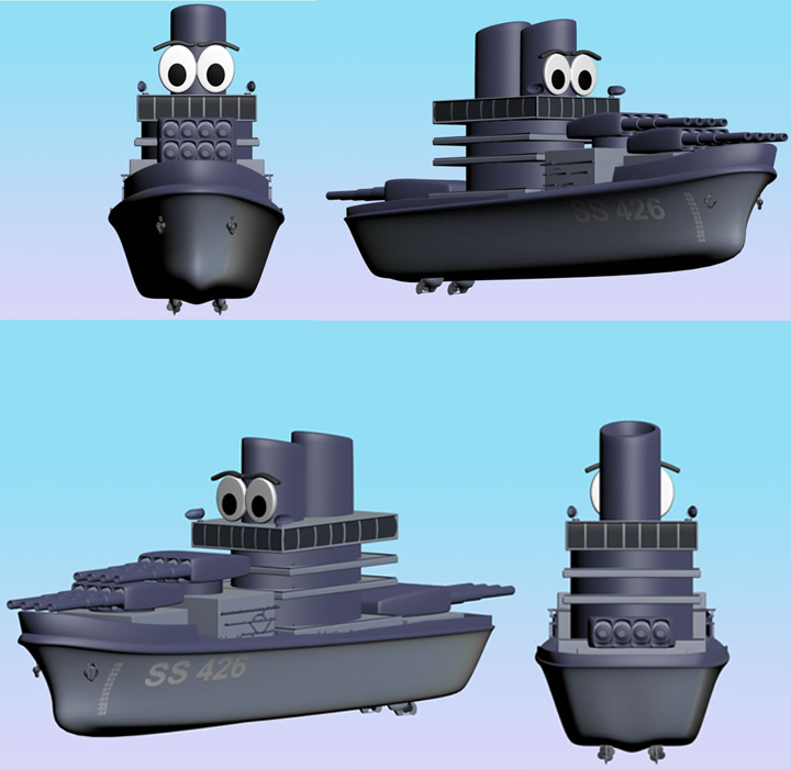 Battle Ship SS 426