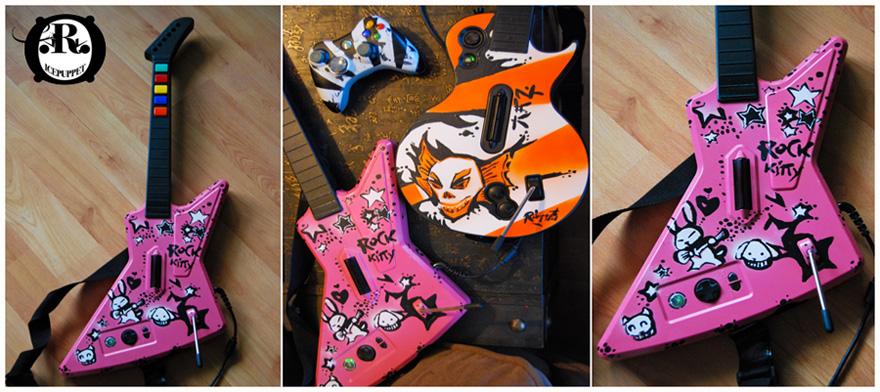 GH Faceplate : Rock Kitty