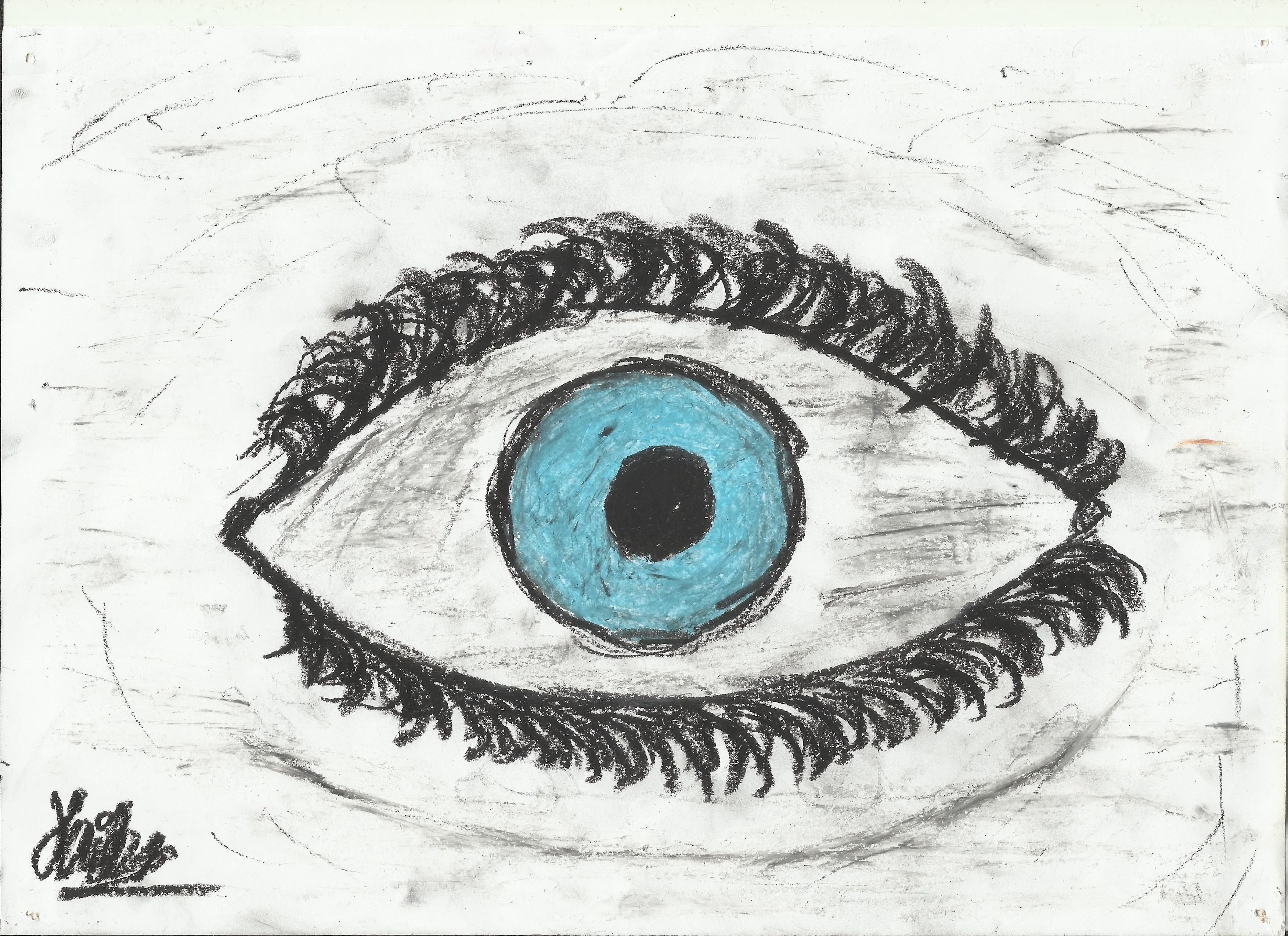 Behind Blue Eye's