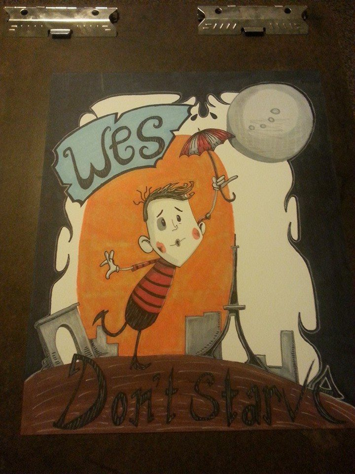 Wes Don't starve