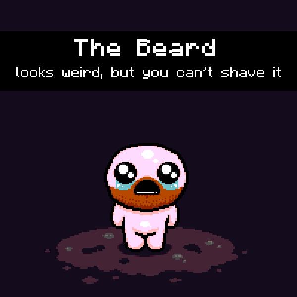 The Binding Of Beard By ThePixelPhoenix On Newgrounds