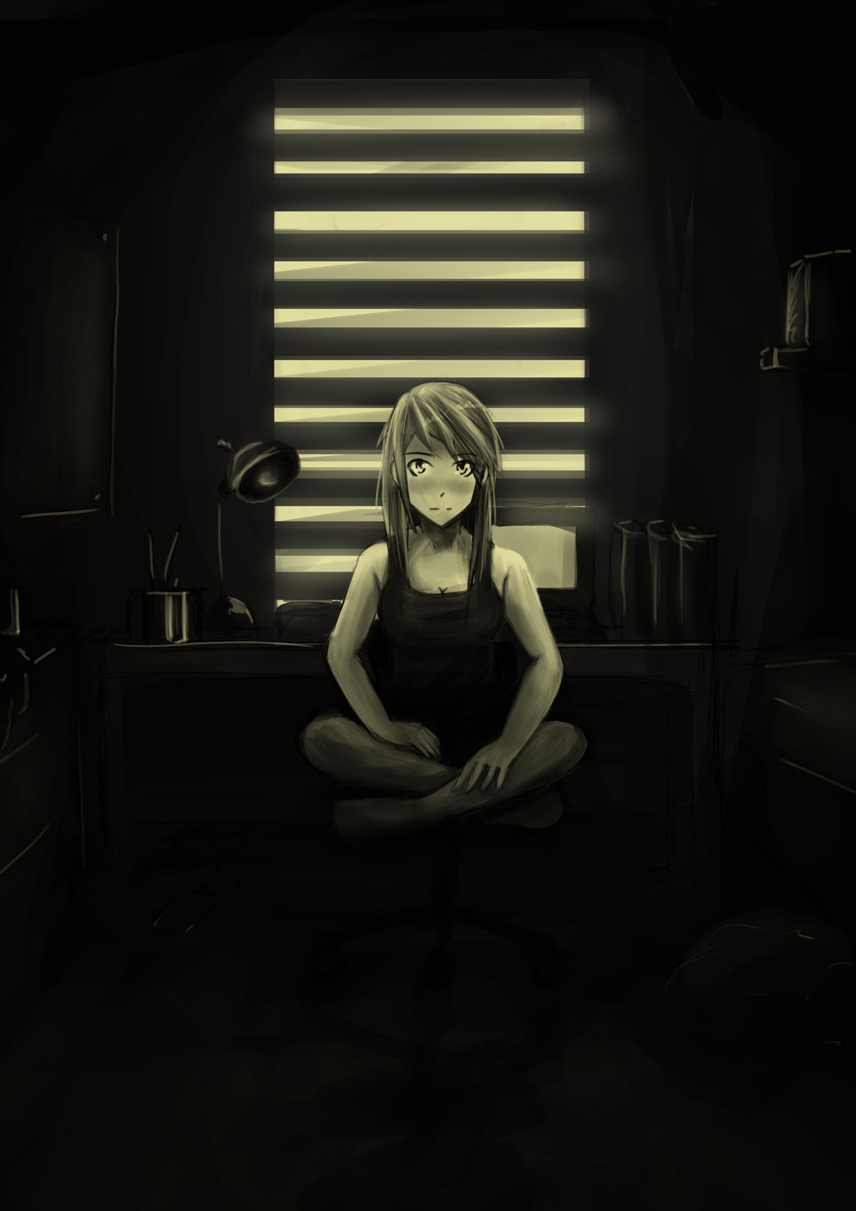 Lain's room