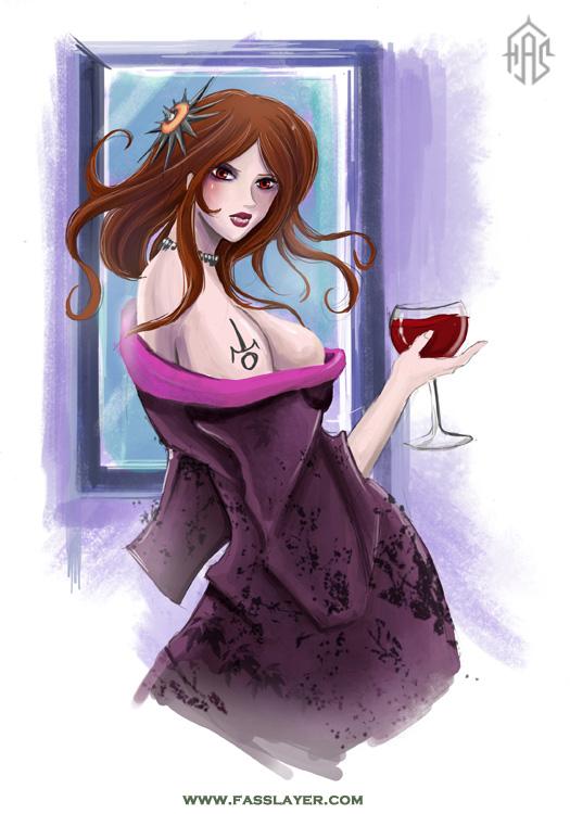 blood wine