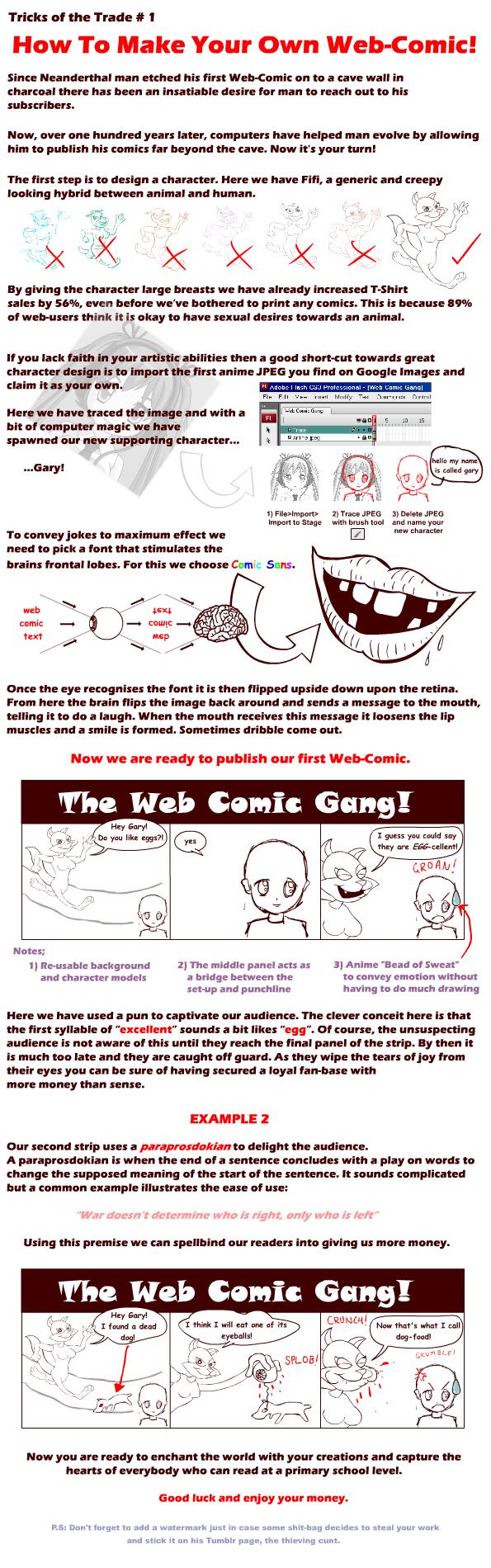 The Web Comic Gang!