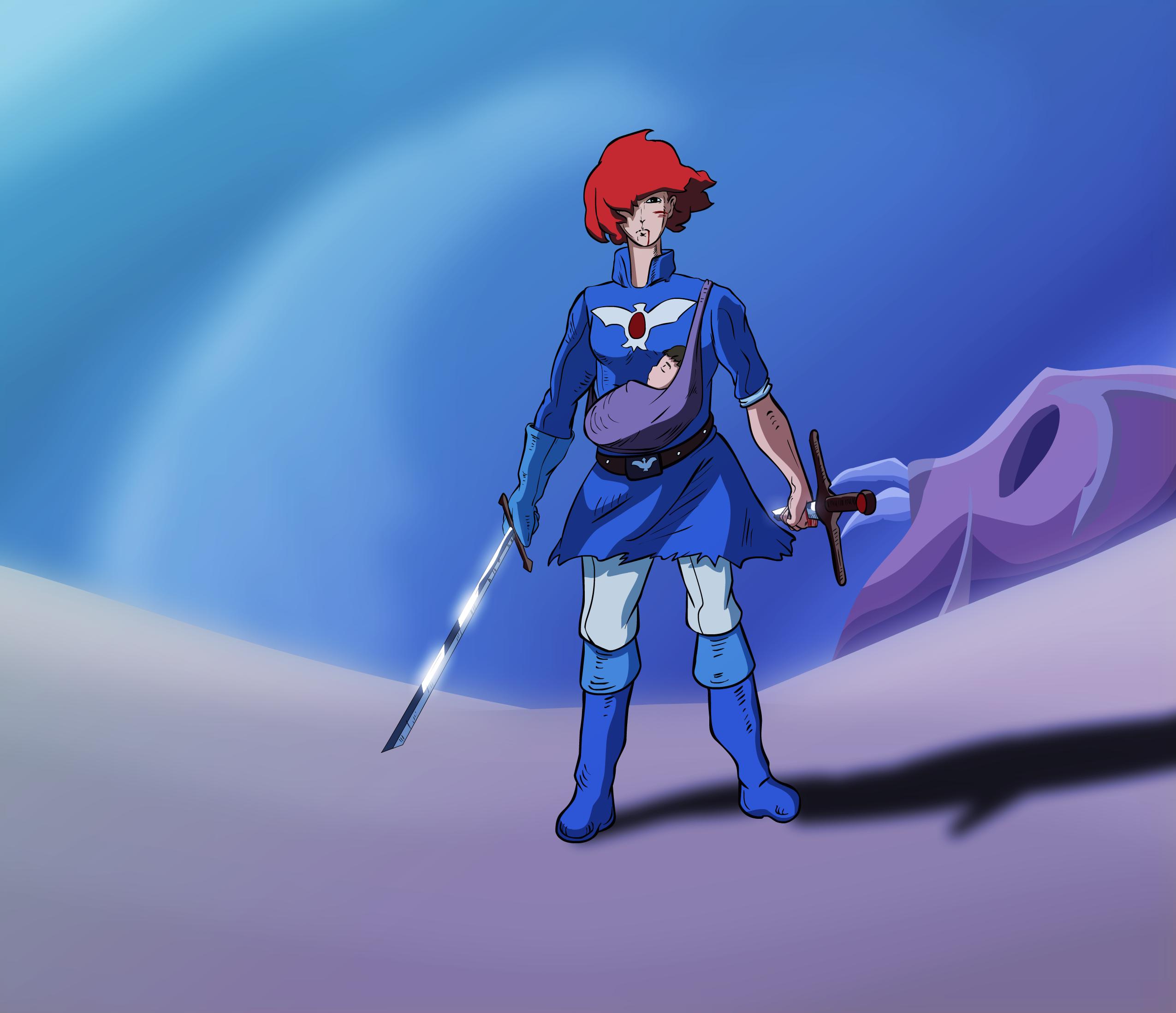 Nausicaa the blue prophet