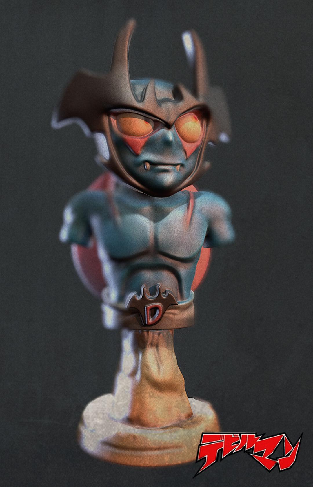 Devilman Bust