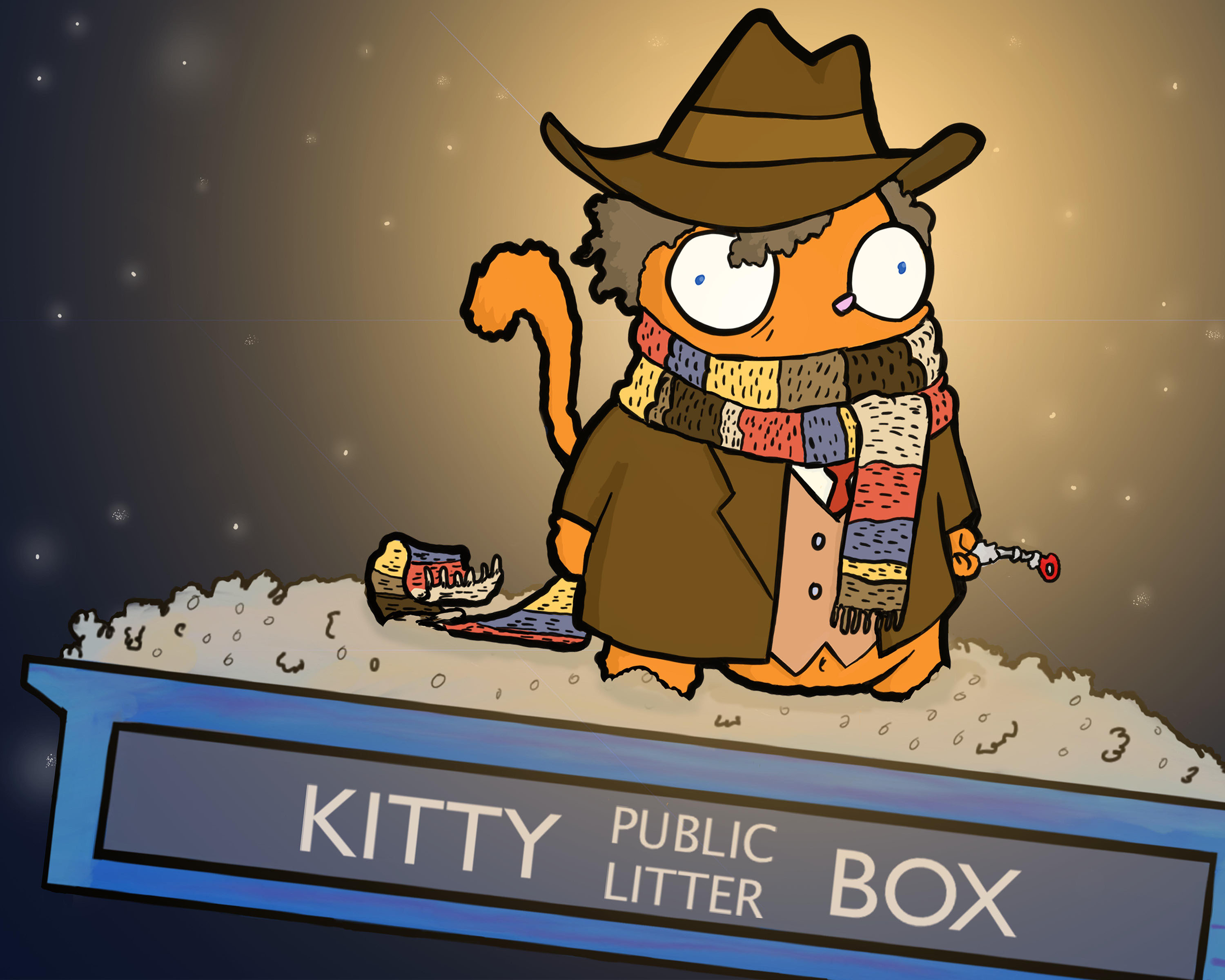 Fourth Doctor Puss