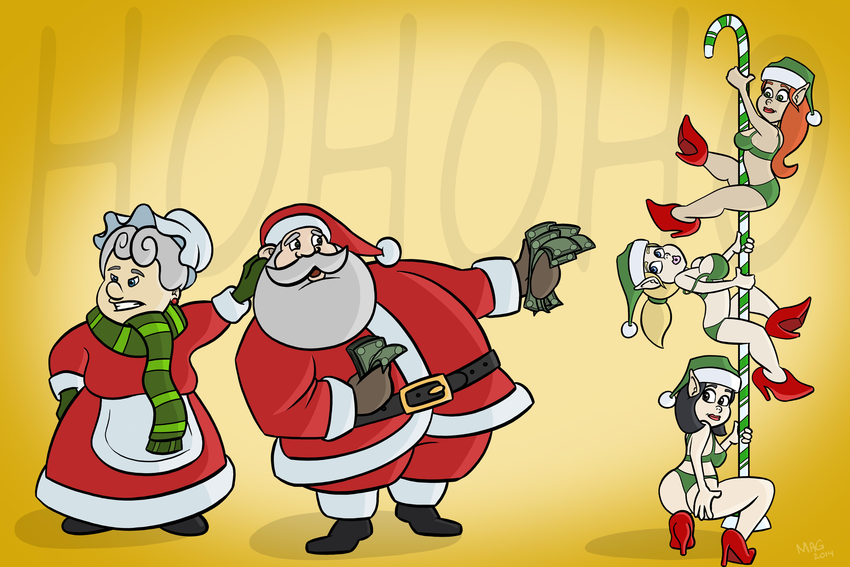 Santa's Ho's