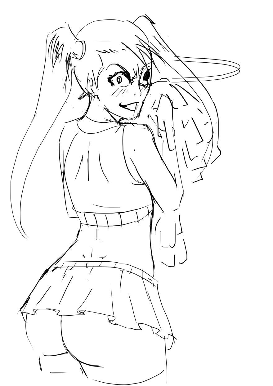 loly cheerleader