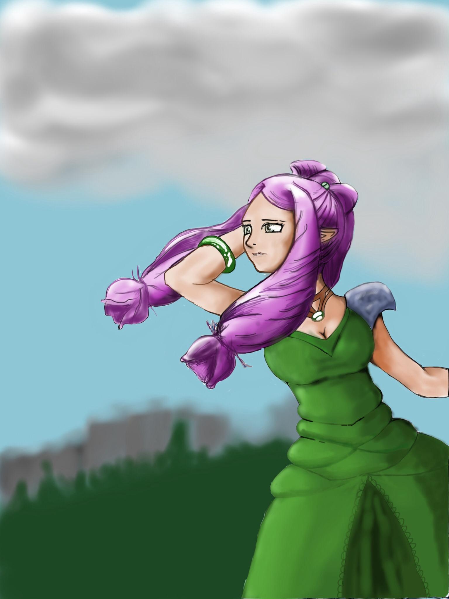 Tess from blade dancer