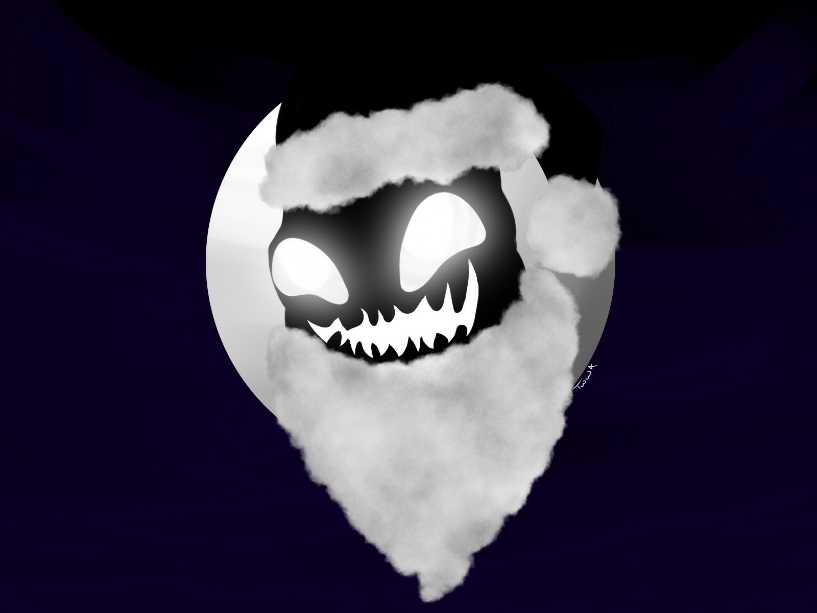 Oogie Boogie moon entry by TheWhiteWolf12121 on Newgrounds