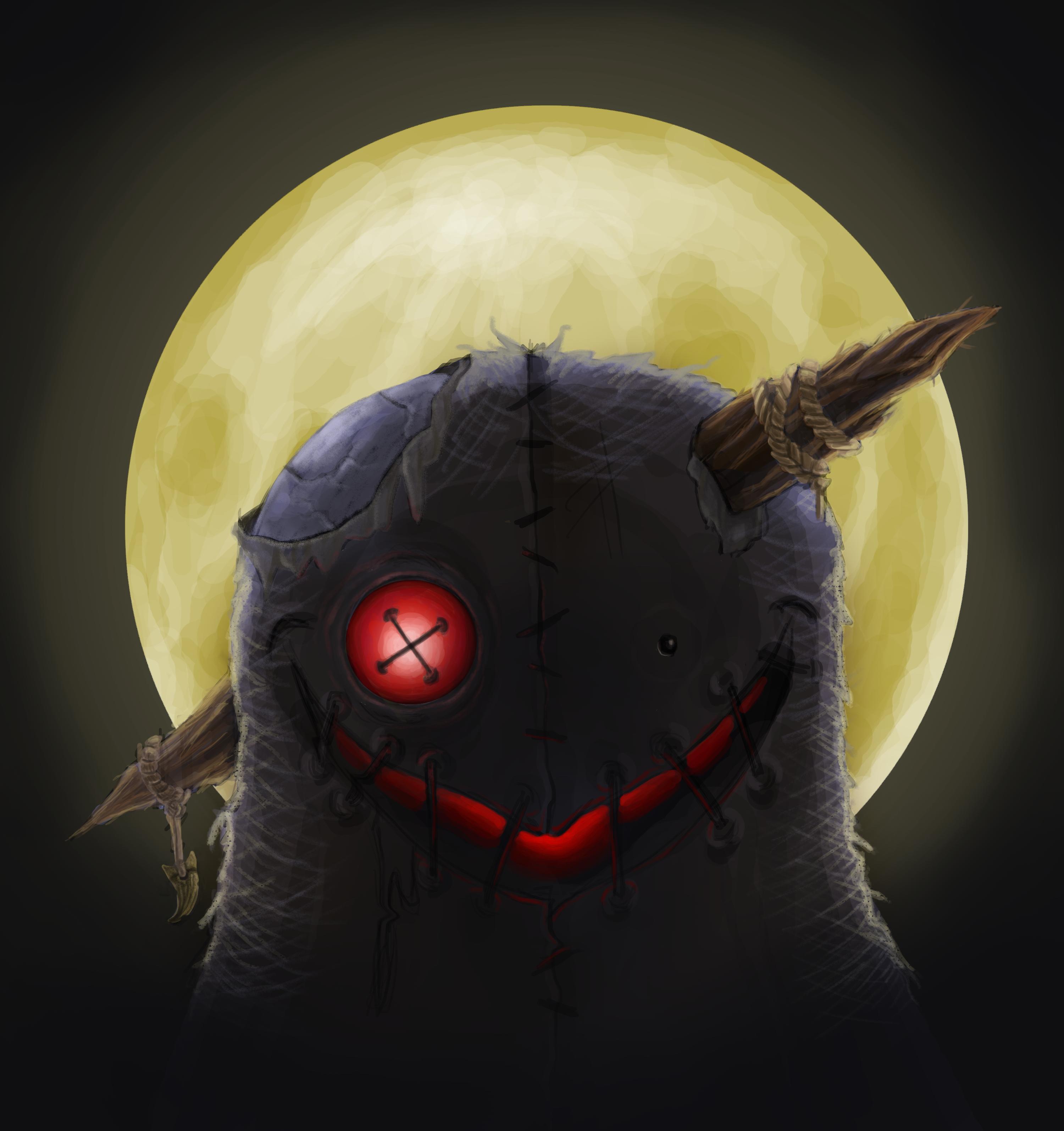 Stitching Under the Moon
