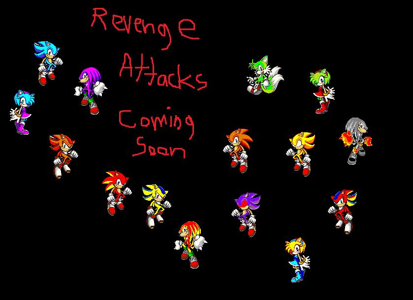 1st Revenge Attacks Characters