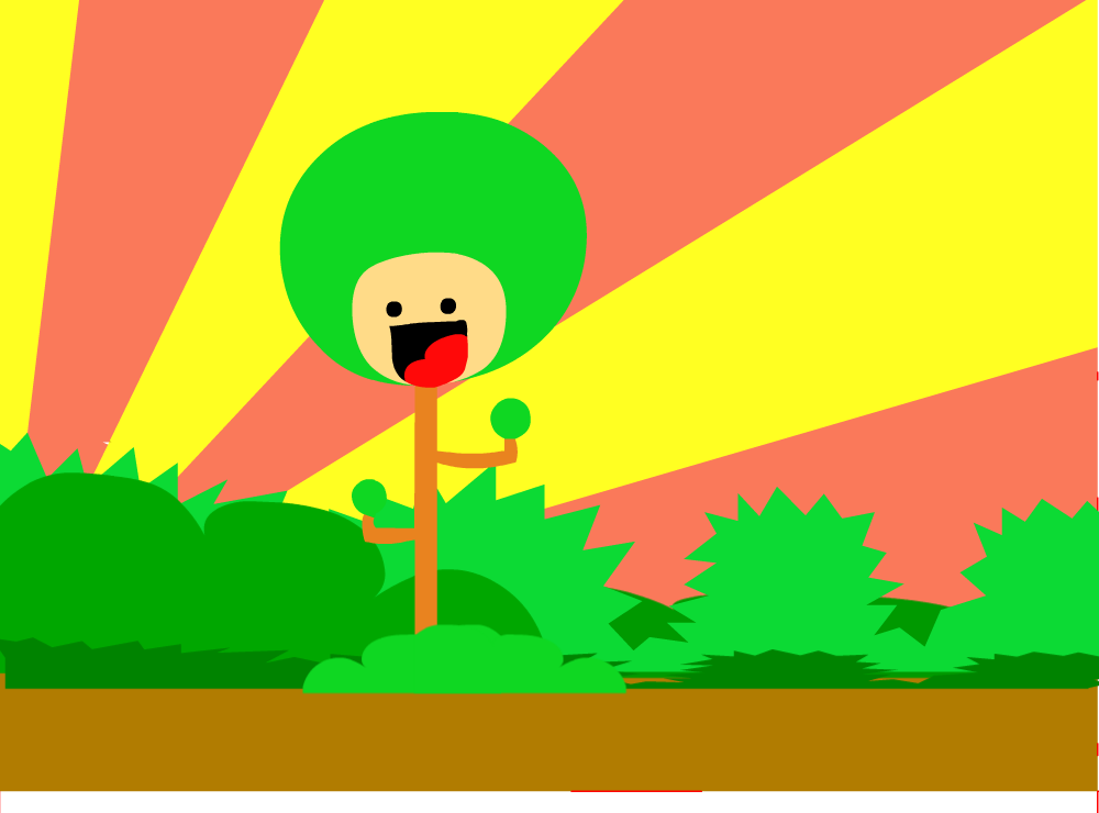 Smiling Forest un finished