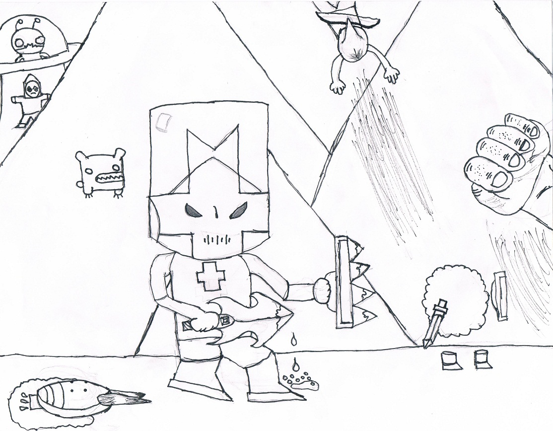 Castle Crashers Fan Art