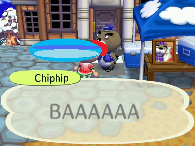 Chip Fires his Lazor