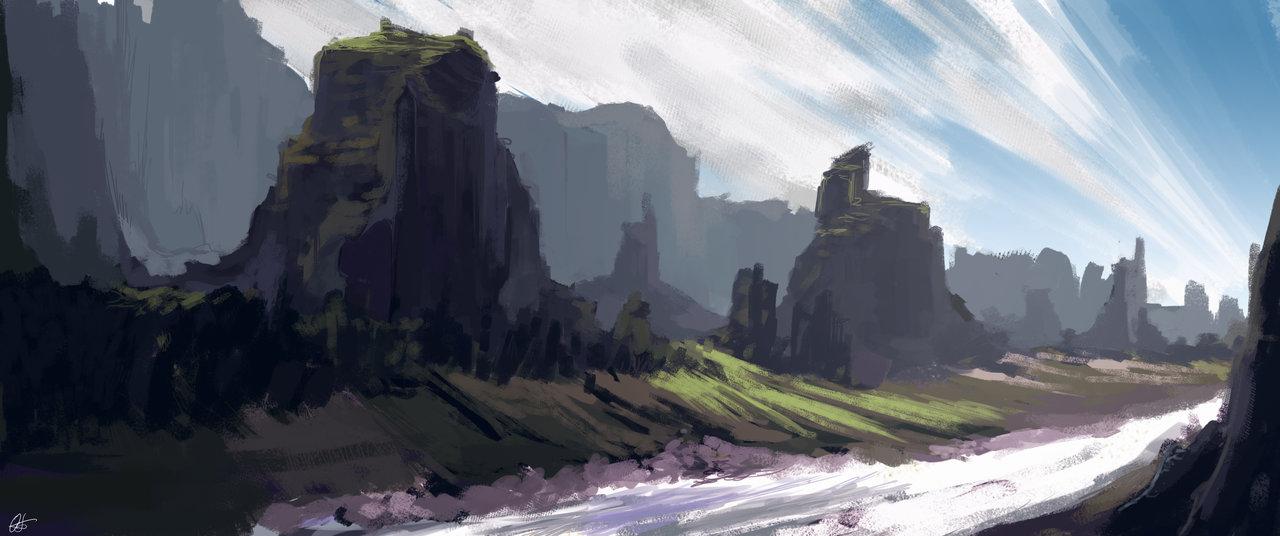 Fantasy Landscape Concept