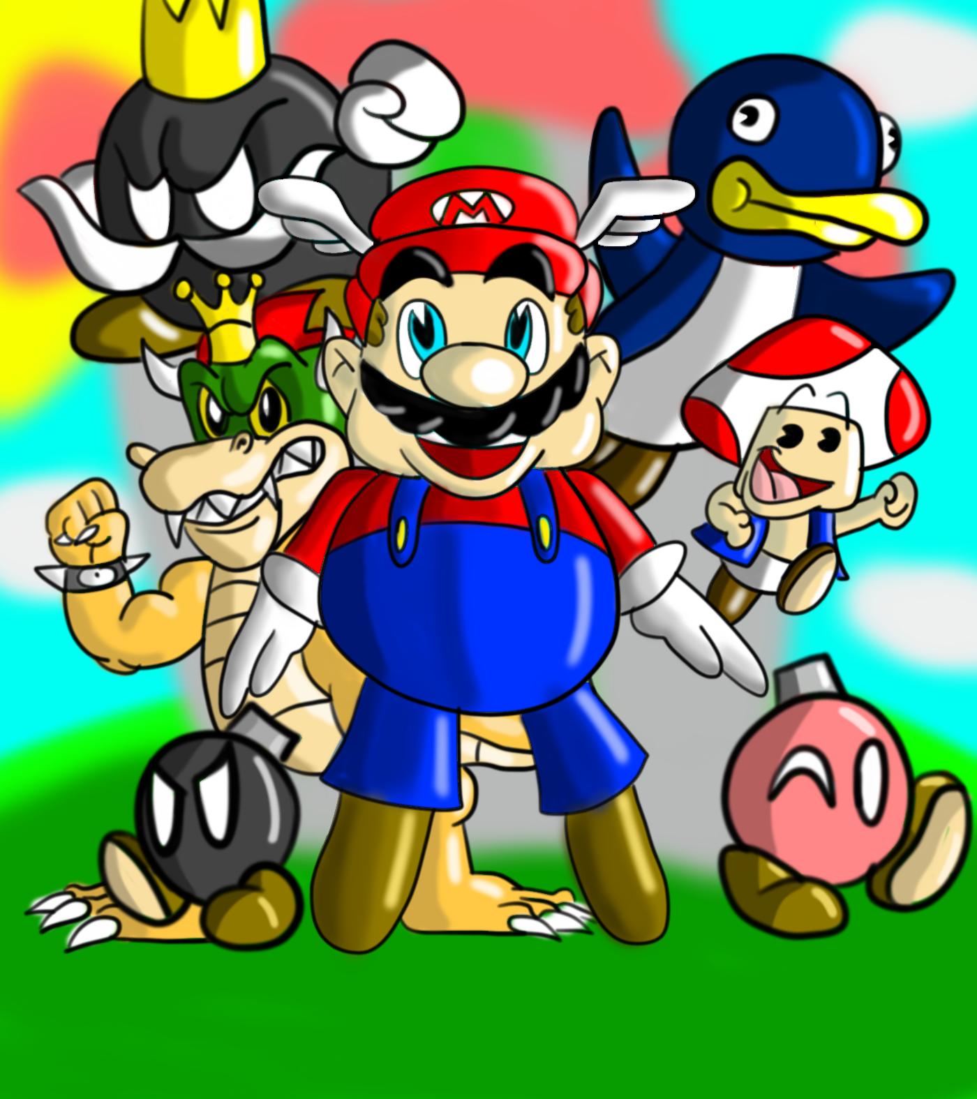 Dic's Super Mario 64