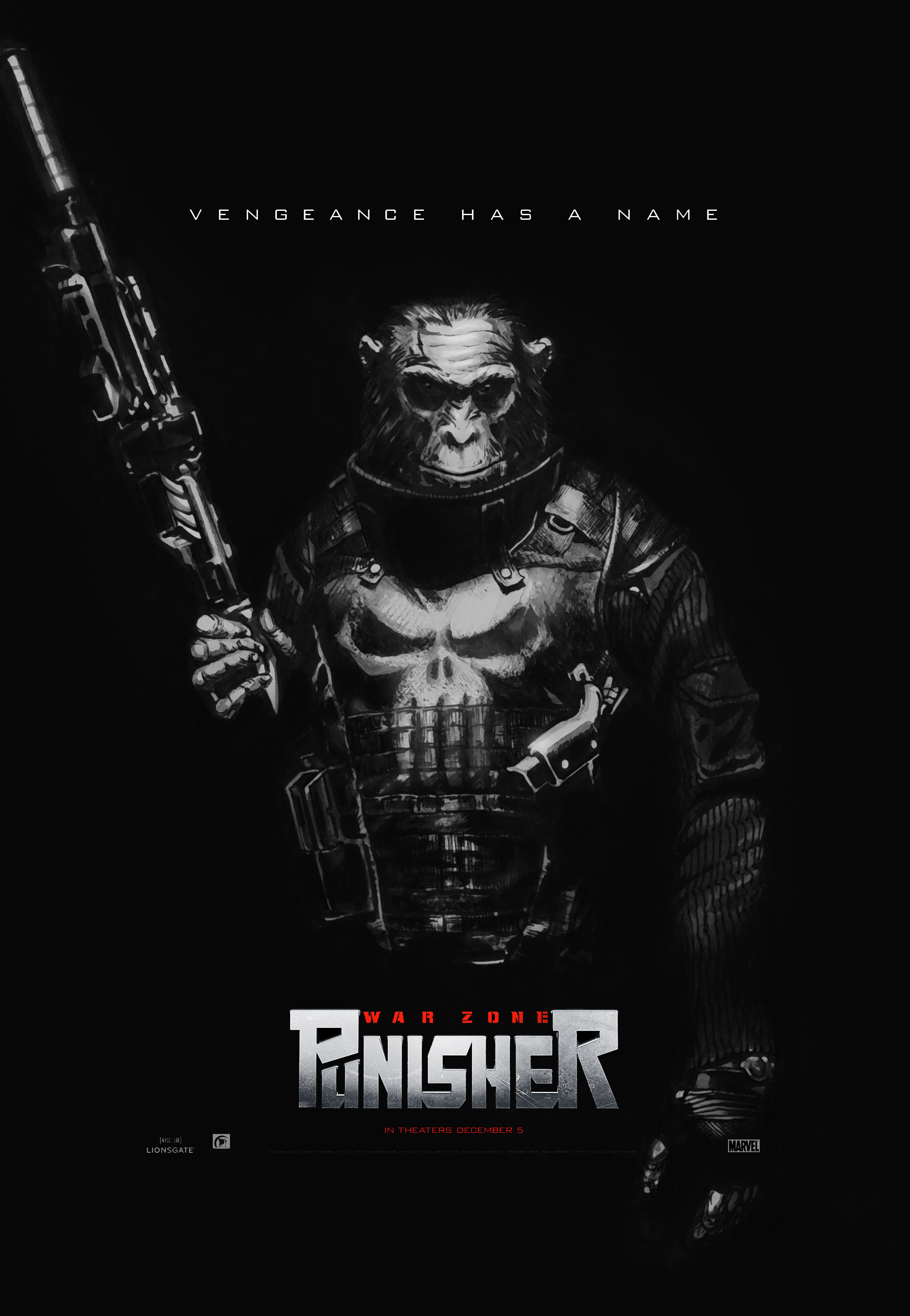If the punisher was an ape