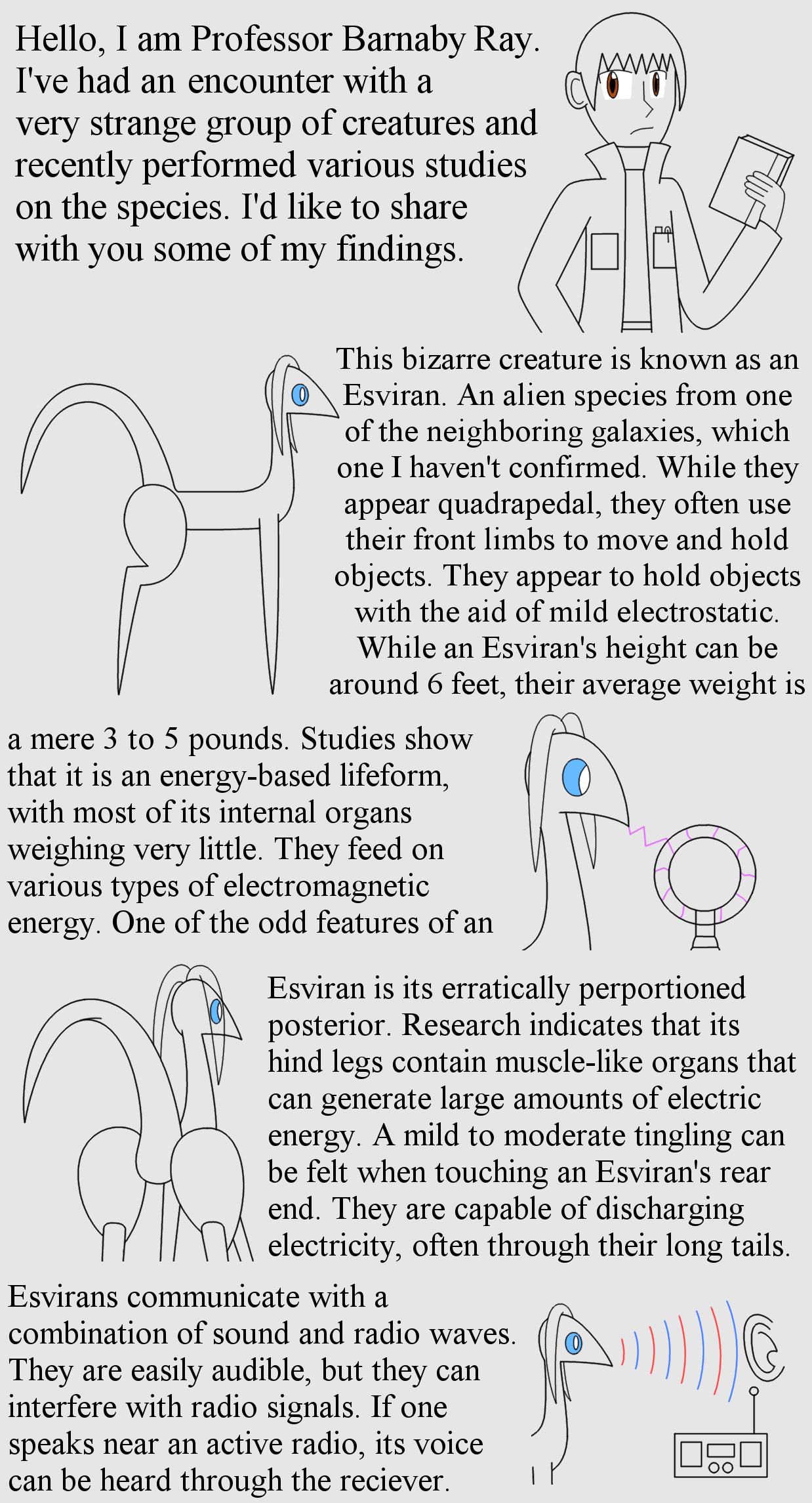 Esviran Research Page