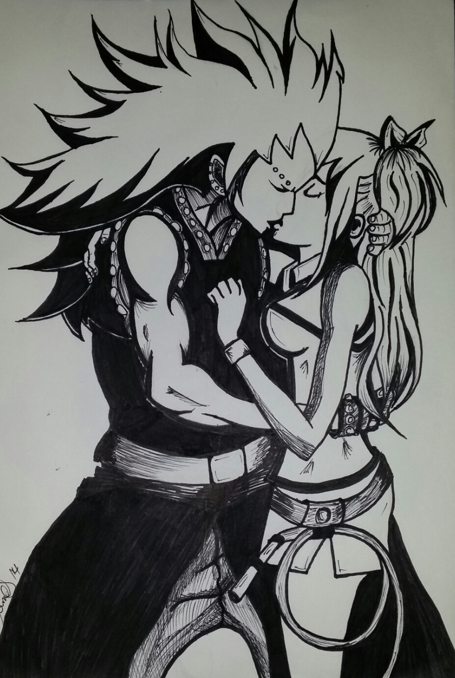 Gajeel And Lucy