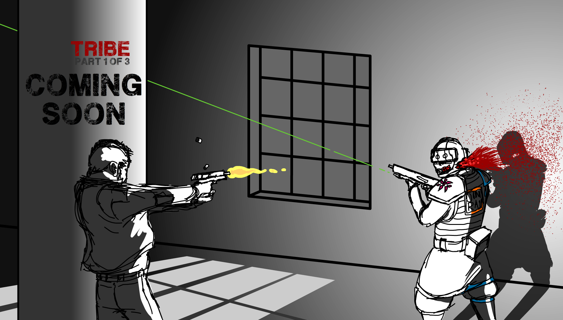 Killing a Jinrai Soldier