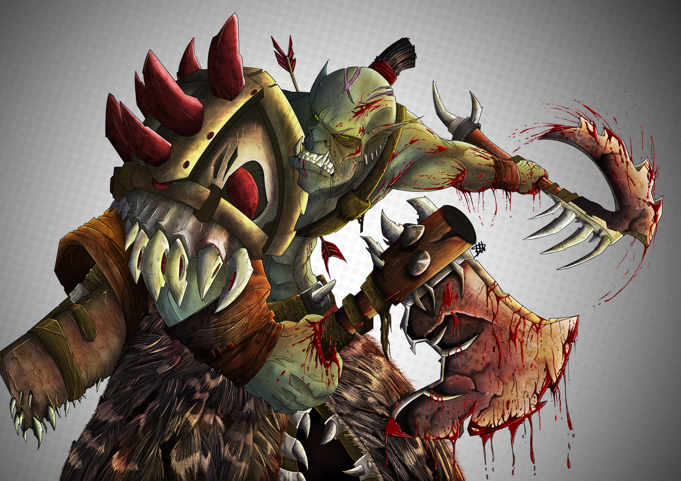 Orc Berserker