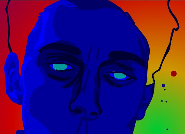 Self-Portrait in limbo