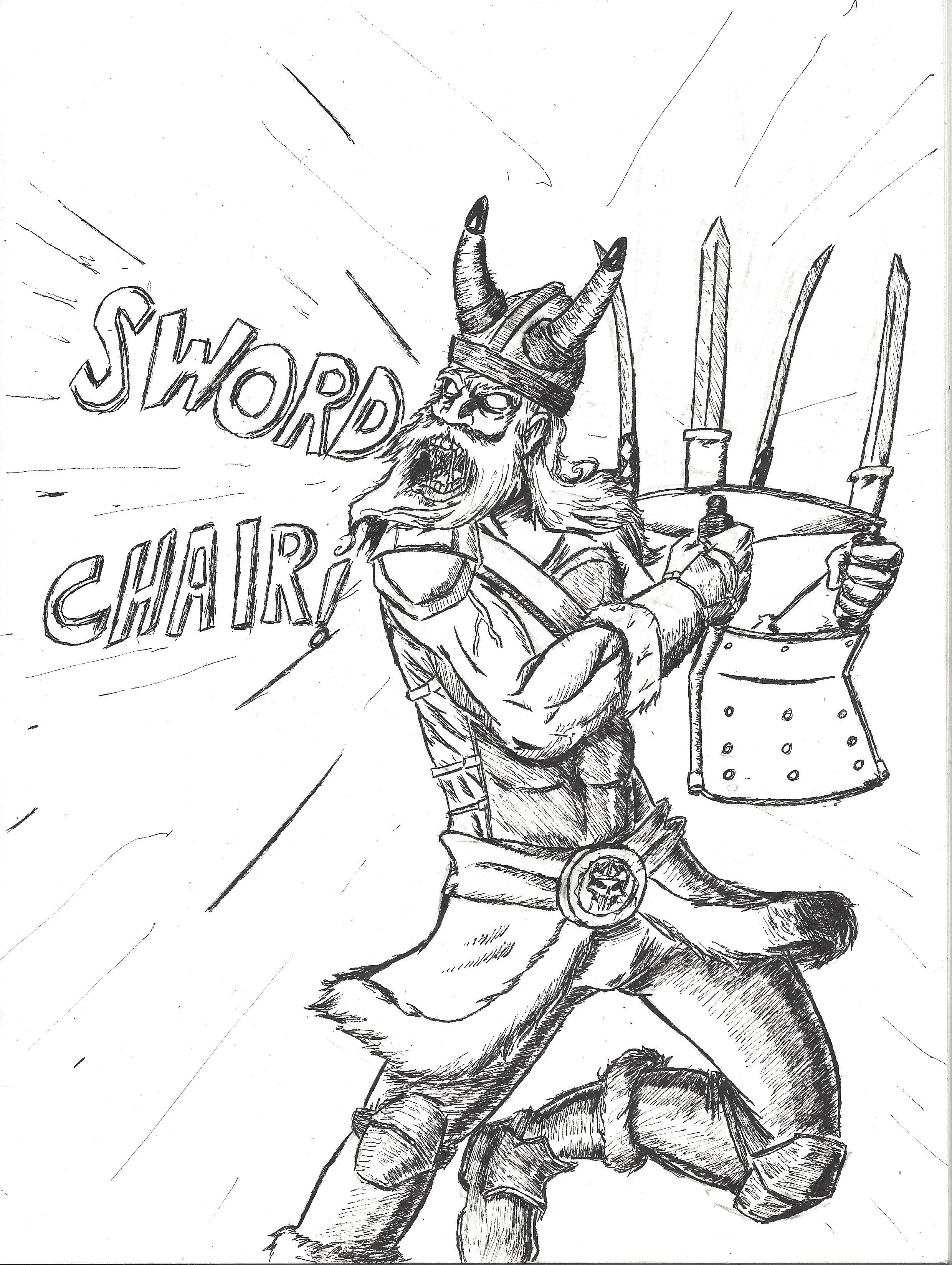 Sword Chair!?