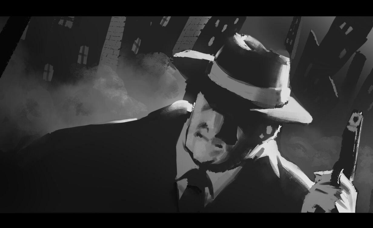 noir painting