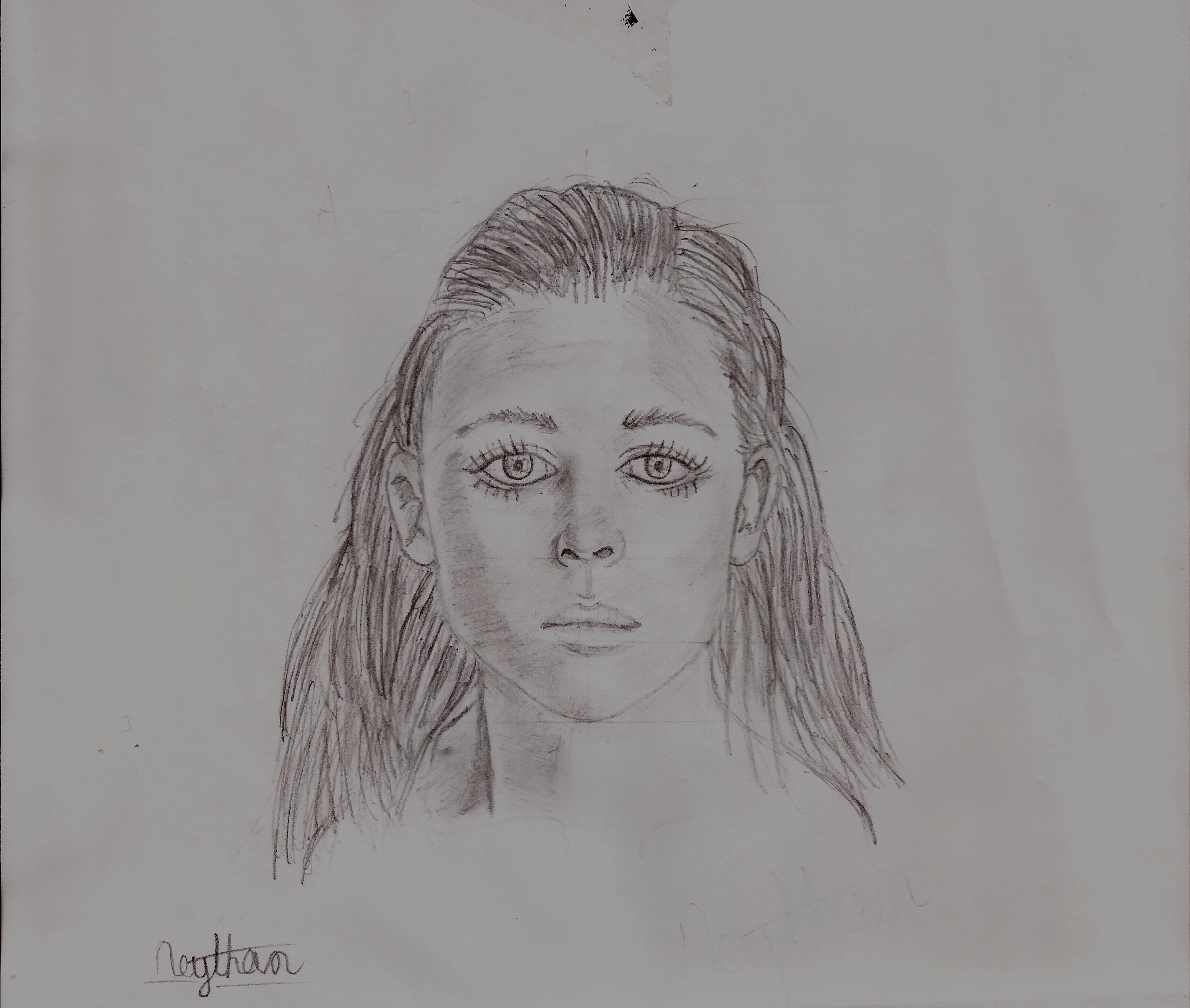 Realistic Female Face