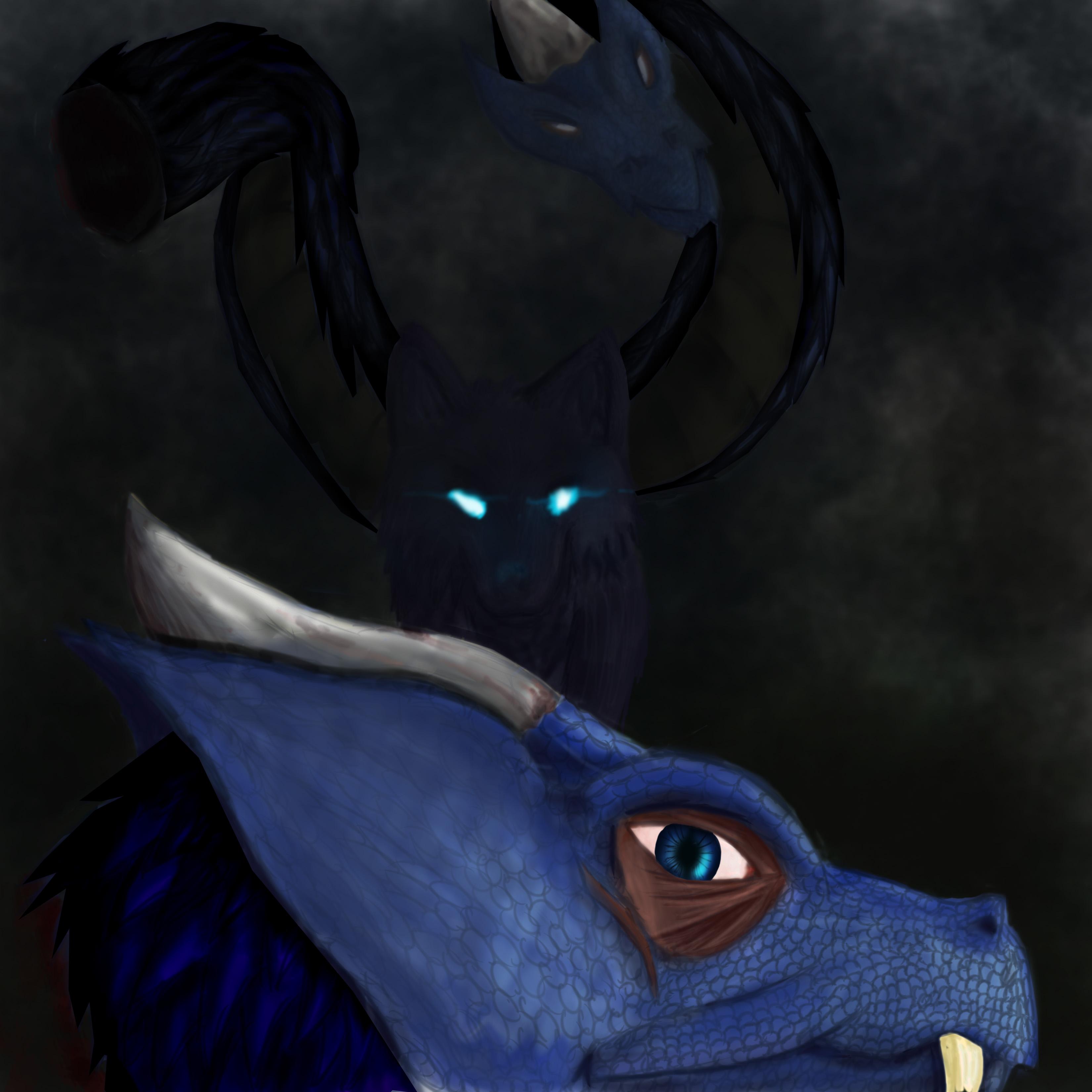Dying monster