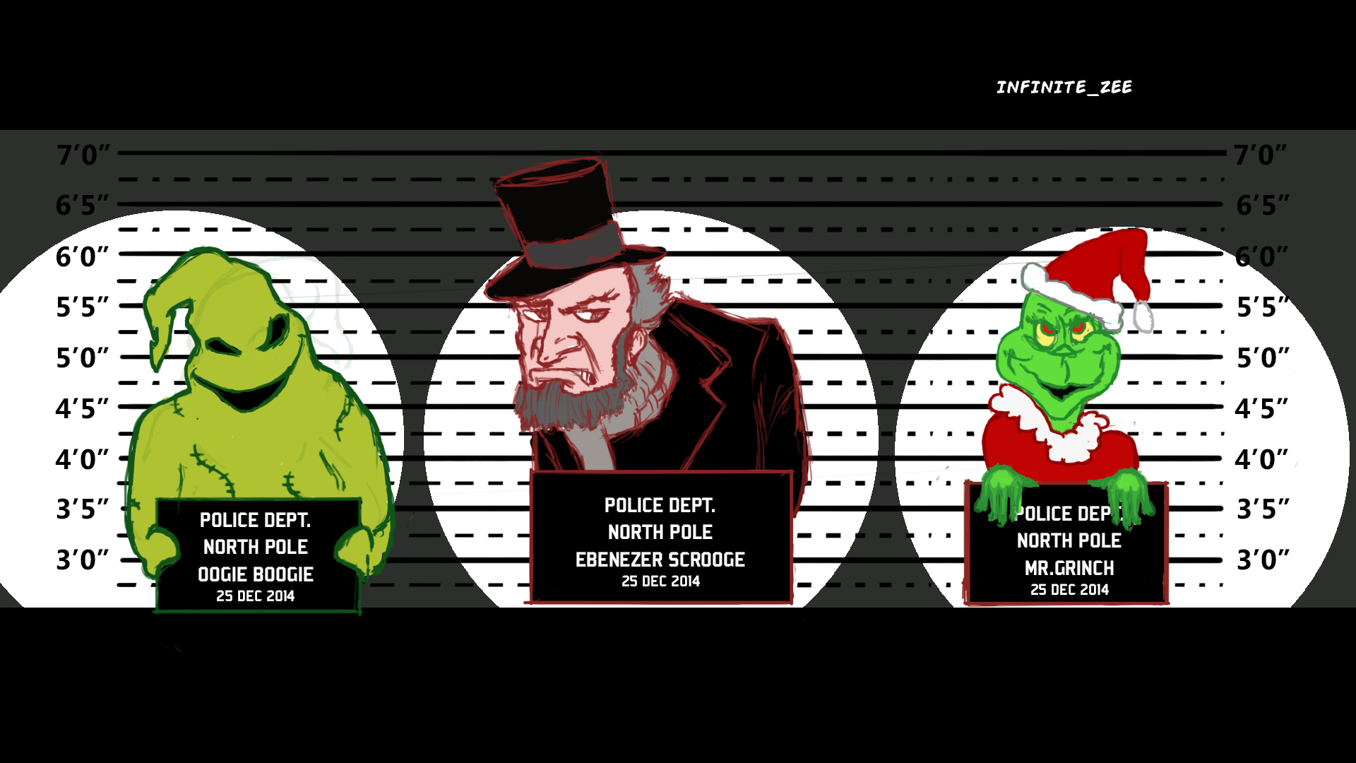 The Christmas Villains Arrest by Infinite-Zee on Newgrounds