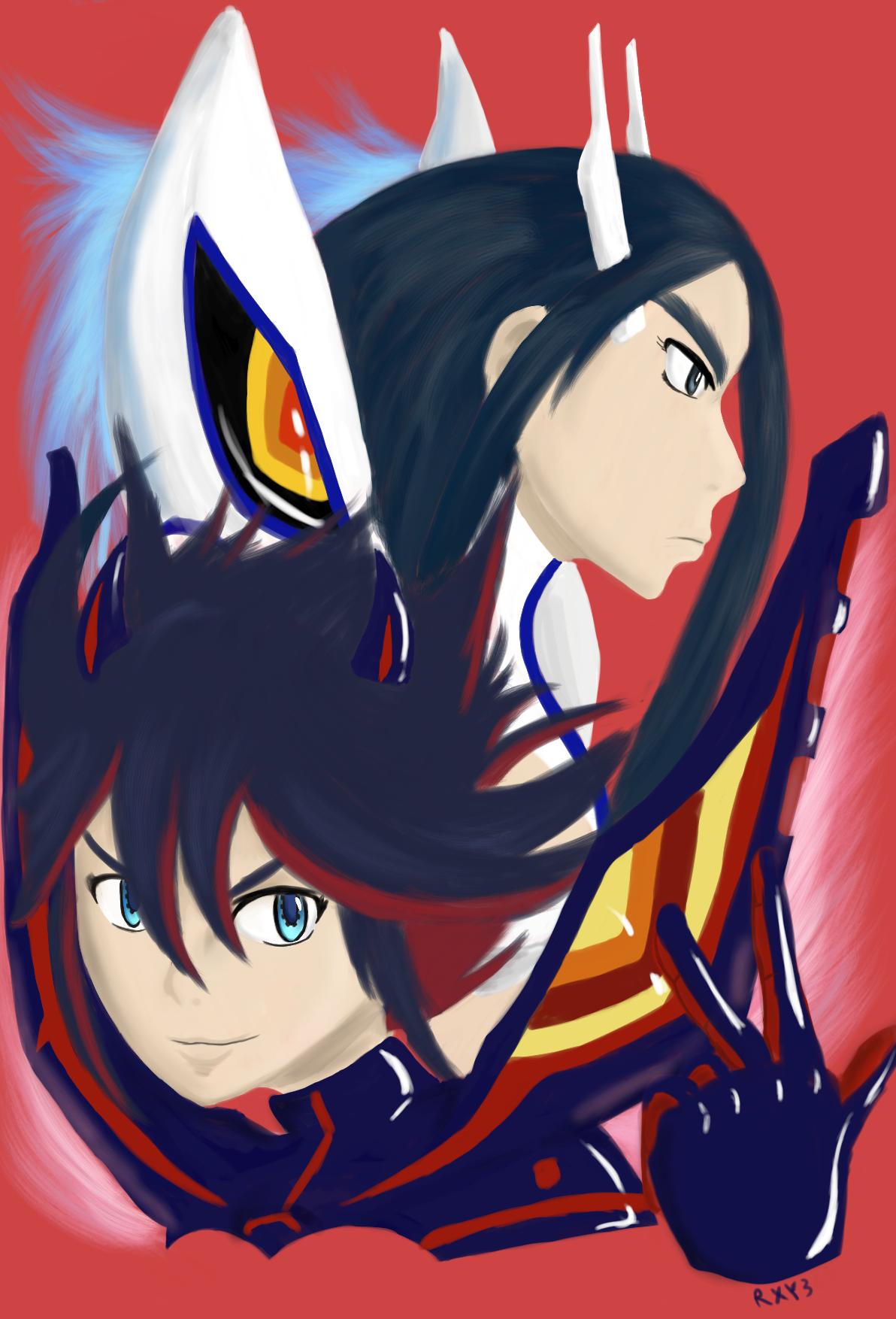 Kill La Kill:Matoi and Satsuki