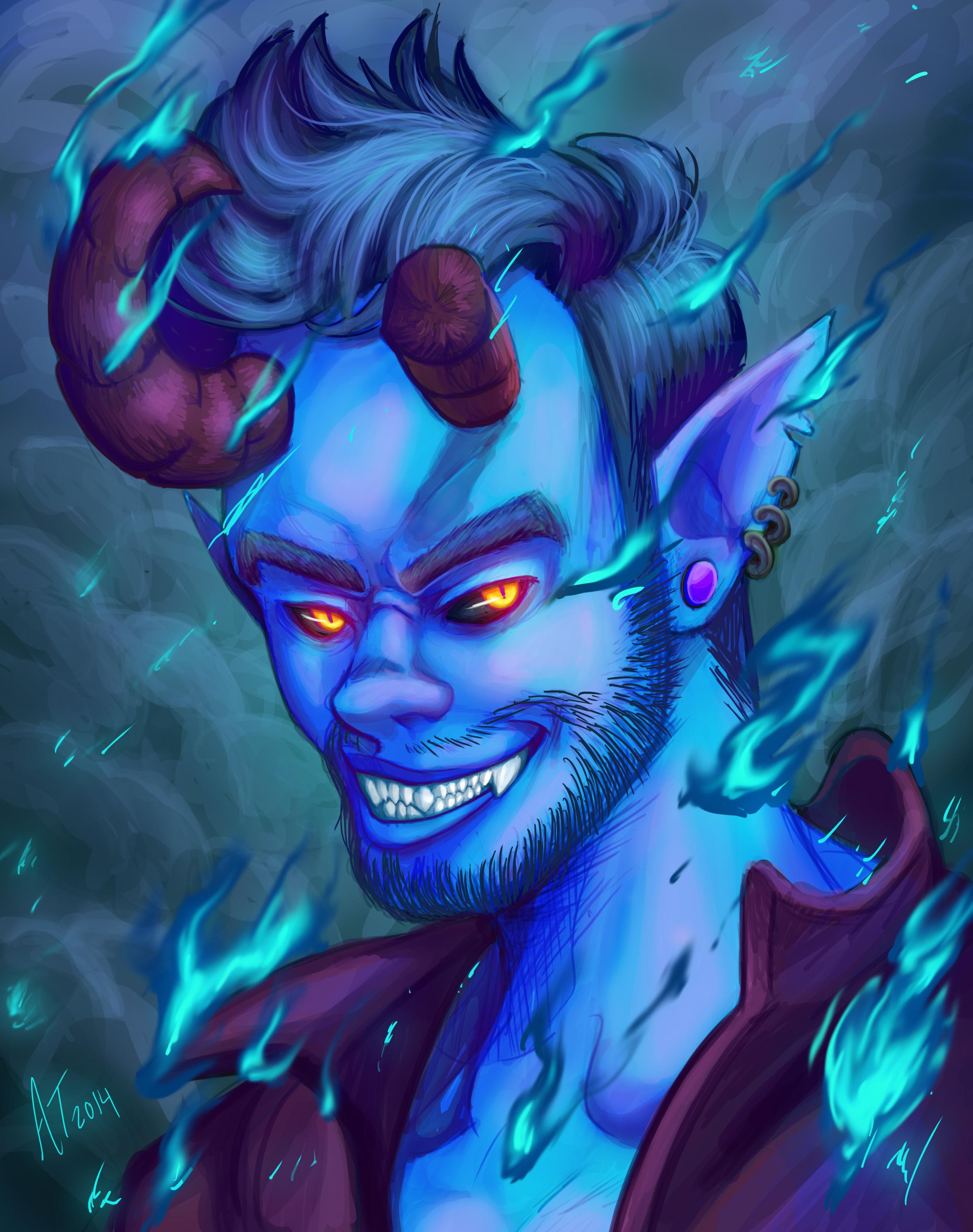 Blue Ass Demon