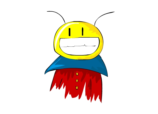 Smiley Alien Ant