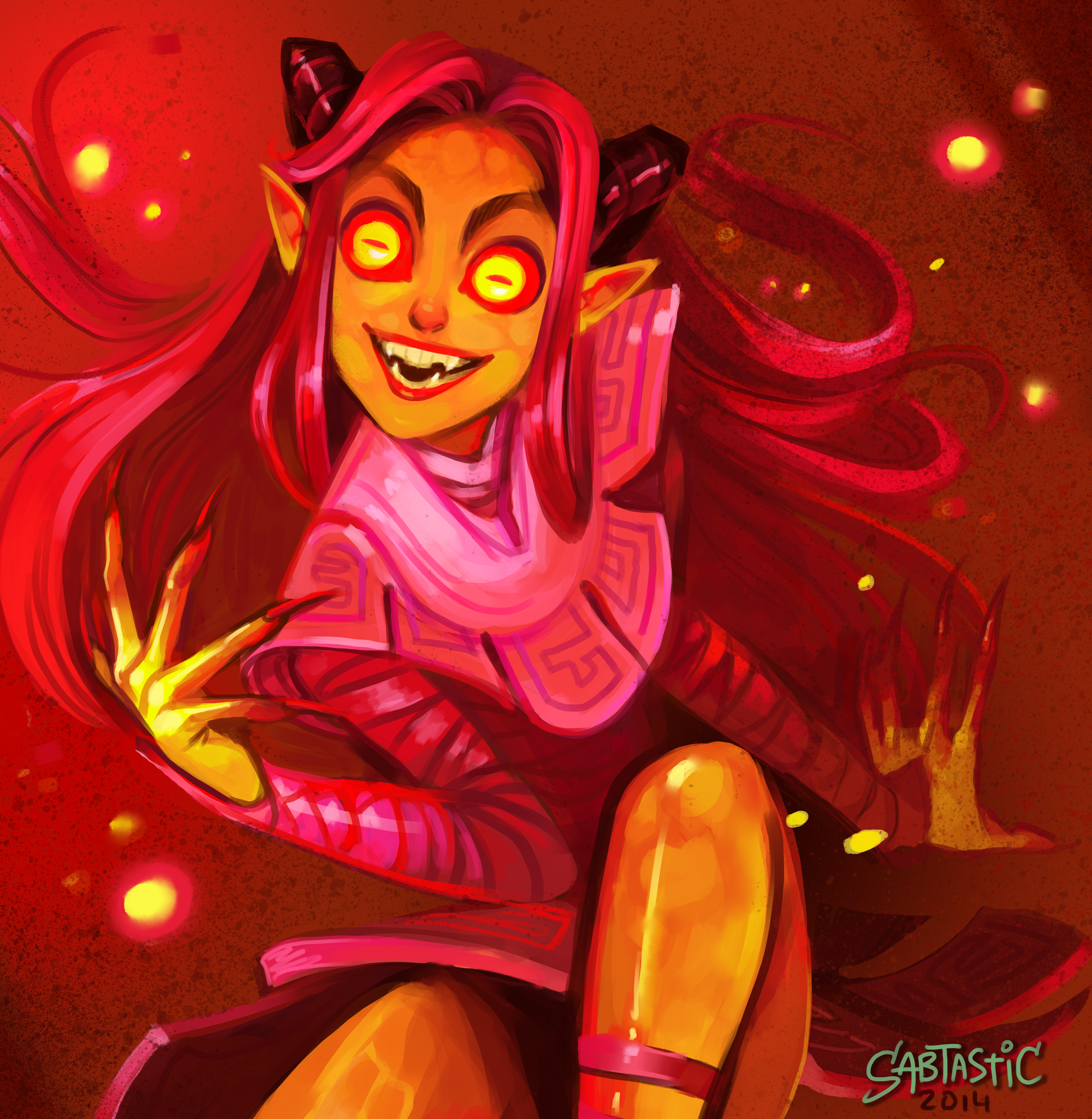 Ava's Demon Fan Art
