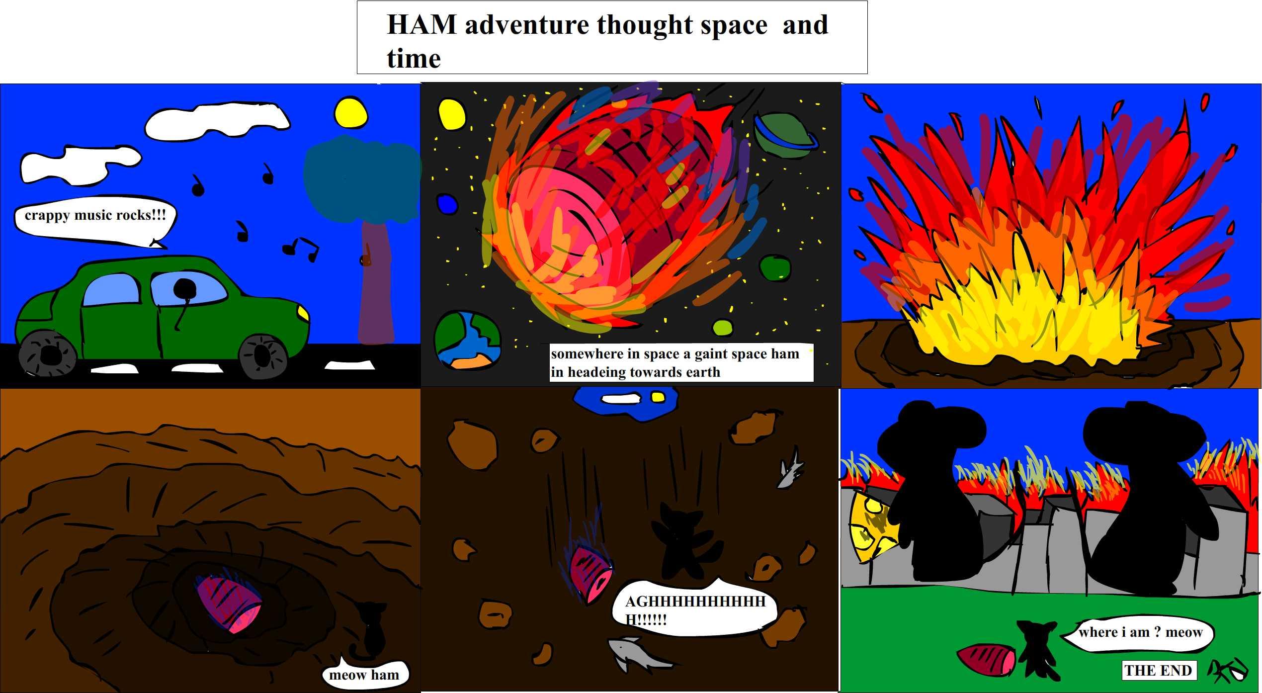 HAM comic series
