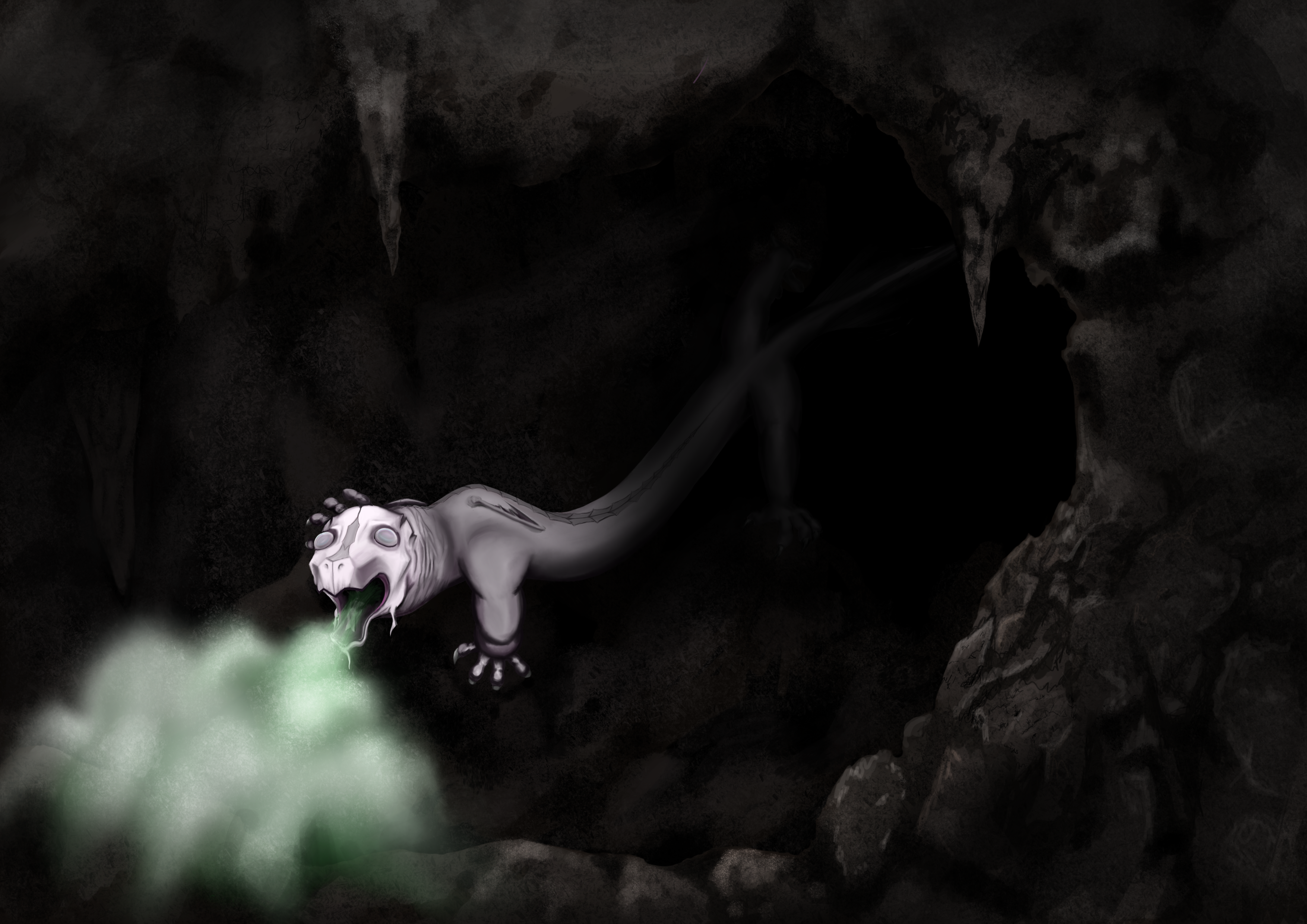 The Cave Dragon
